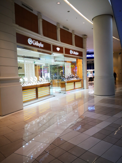 PROFITABLE JEWELLERY STORE ACQUISITION IN SHOPPING CENTER - TURKEY